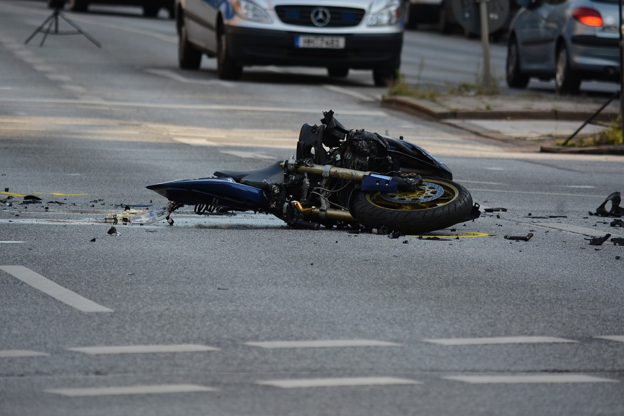 Motorcycle Accident 2